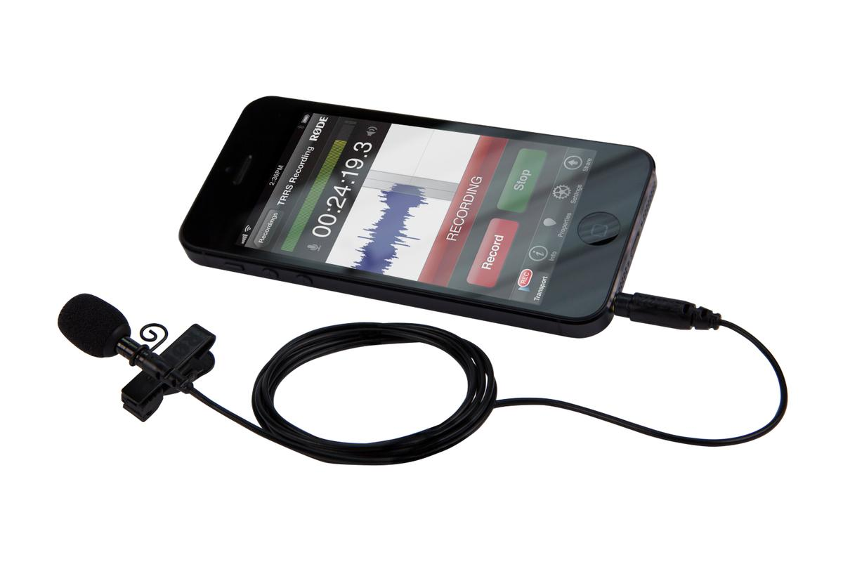 RØDE Microphones has launched the smartLav professional-grade lavalier microphone for iPhone, iPad and iPod touch