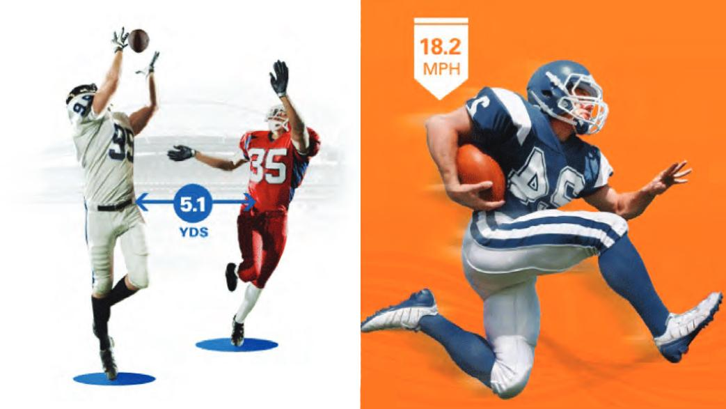 NFL players will be tracked in real-time using RFID tags