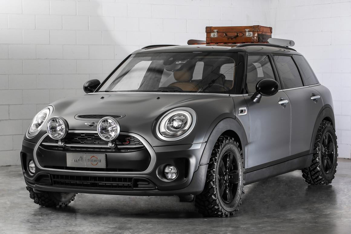 The ALL4 Scrambler is a Mini designed to tackle mild off-roading, and look cool while doing it
