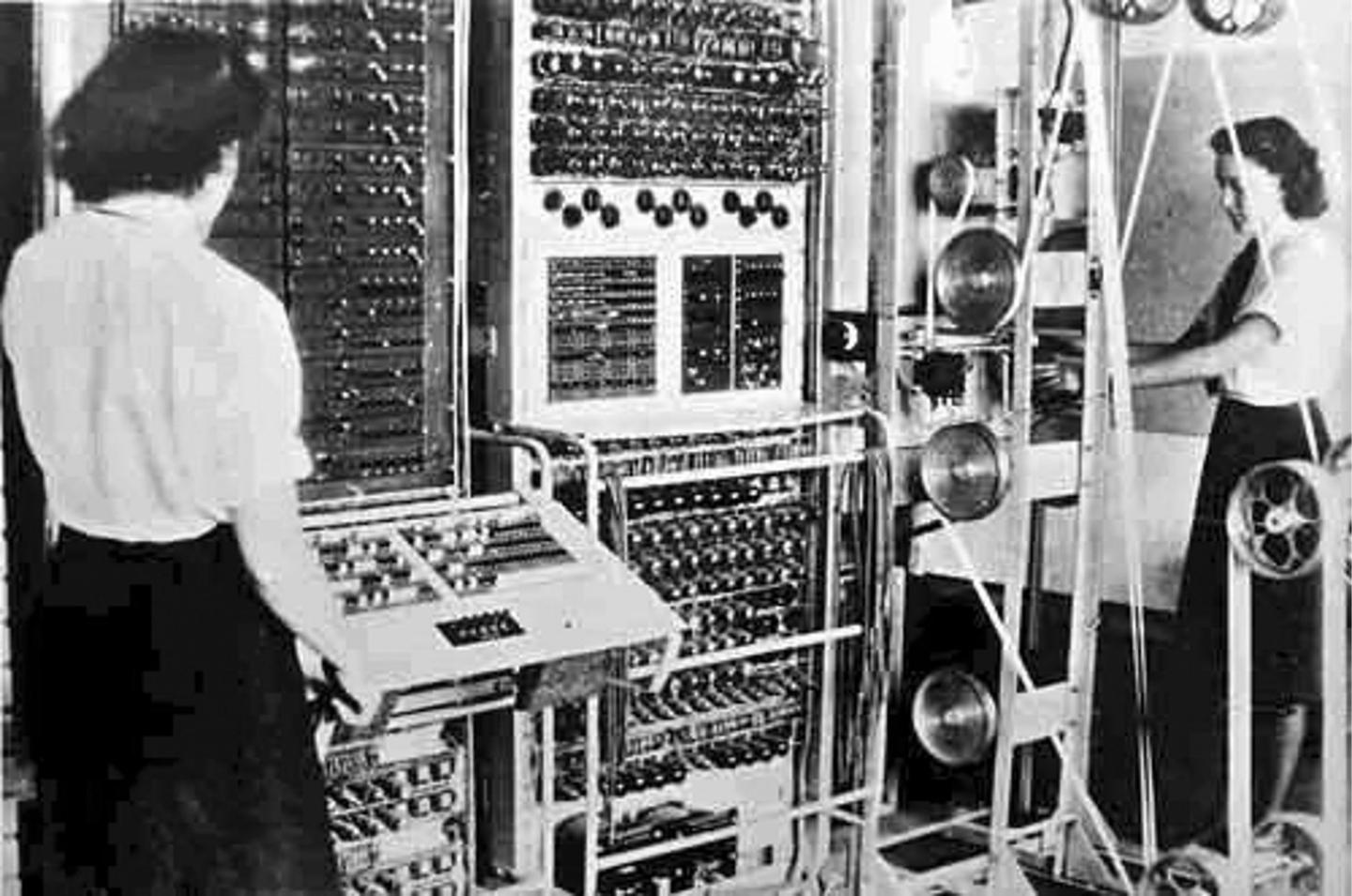 The Colossus Mark II was the second of 10 Colossus computers