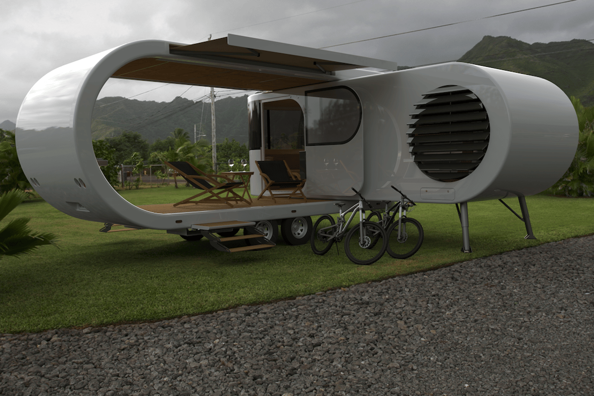 As this render shows, Romotow owners will undoubtedly make full use of that deck on their journeys