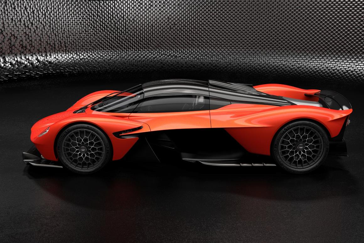 1,160 bhp and 900 Nmof torque: Aston Martin has released full performance figures for the its insane street-legal hypercar