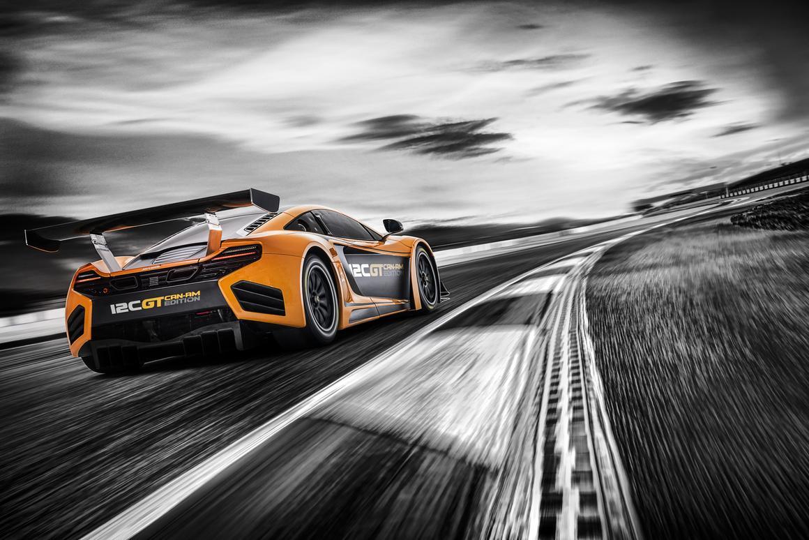 The McLaren 12C GT Can-Am Edition