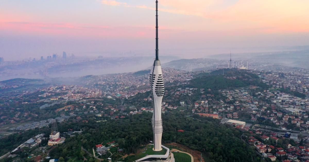 Supertall tower looks over point where Europe and Asia meet