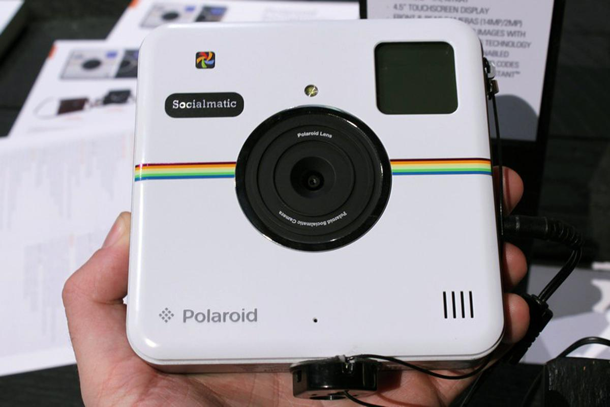 The Instagram logo-inspired Socialmatic from Polaroid