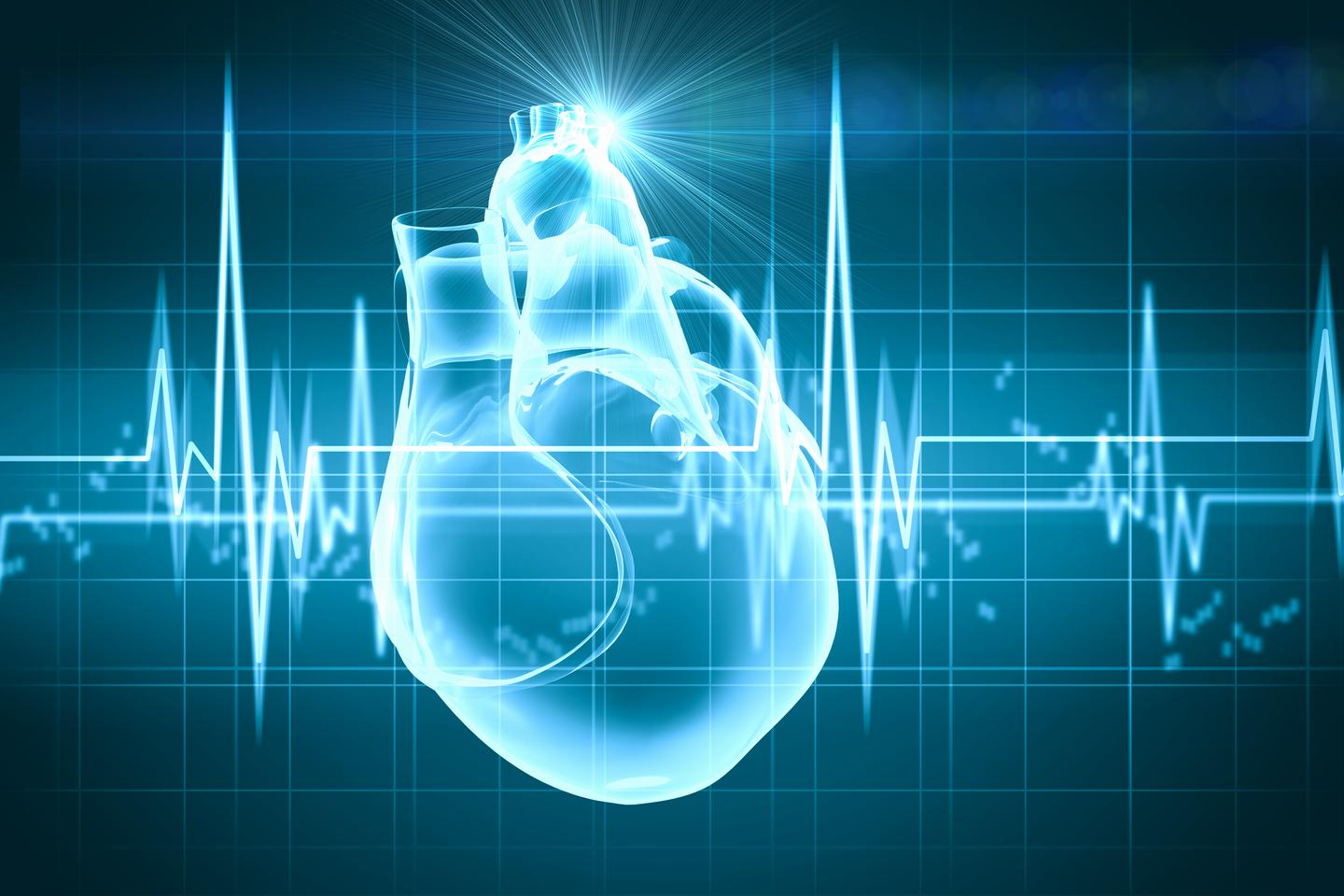 Rice University researchers use the heartbeat as a random signal generator to make medical implants more secure (Image: Sergey Nivens/Shutterstock)