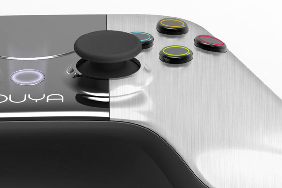 The Ouya games console comes with a controller designed by Yves Behar