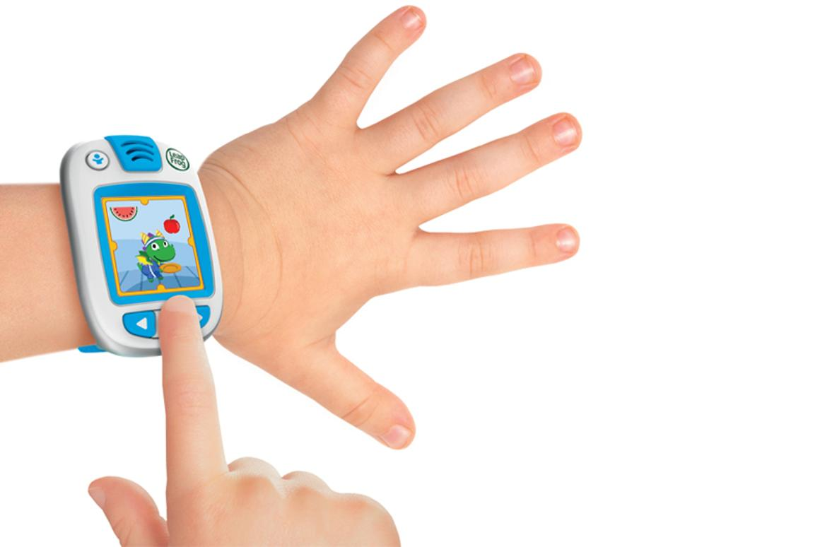 The LeapBand from LeapFrog is a wearable activity tracker aimed at four- to seven-year-olds