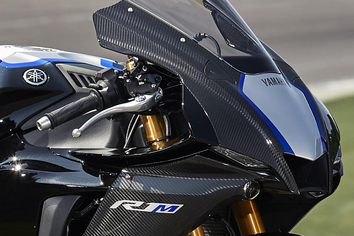 The R1M gets the new nose cone too
