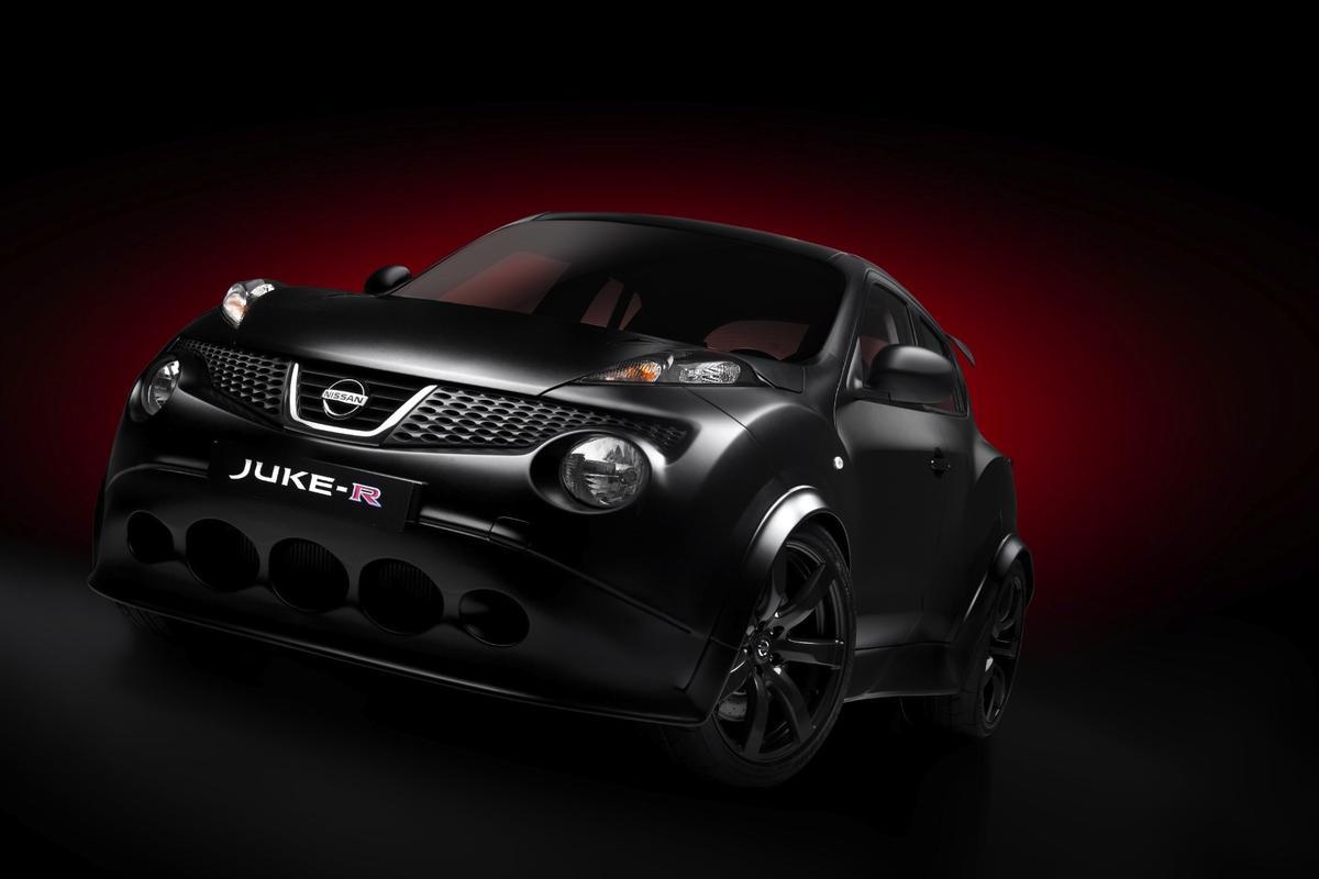 Nissan's JUKE-R concept