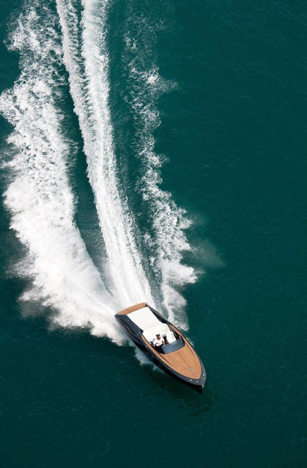 Frauscher debuted the 858 Fantom last summer