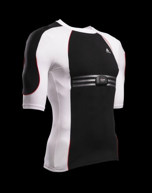 The adidas adiStar Fusion range of apparel includes t-shirts, long sleeve shirts, bras and women's tops