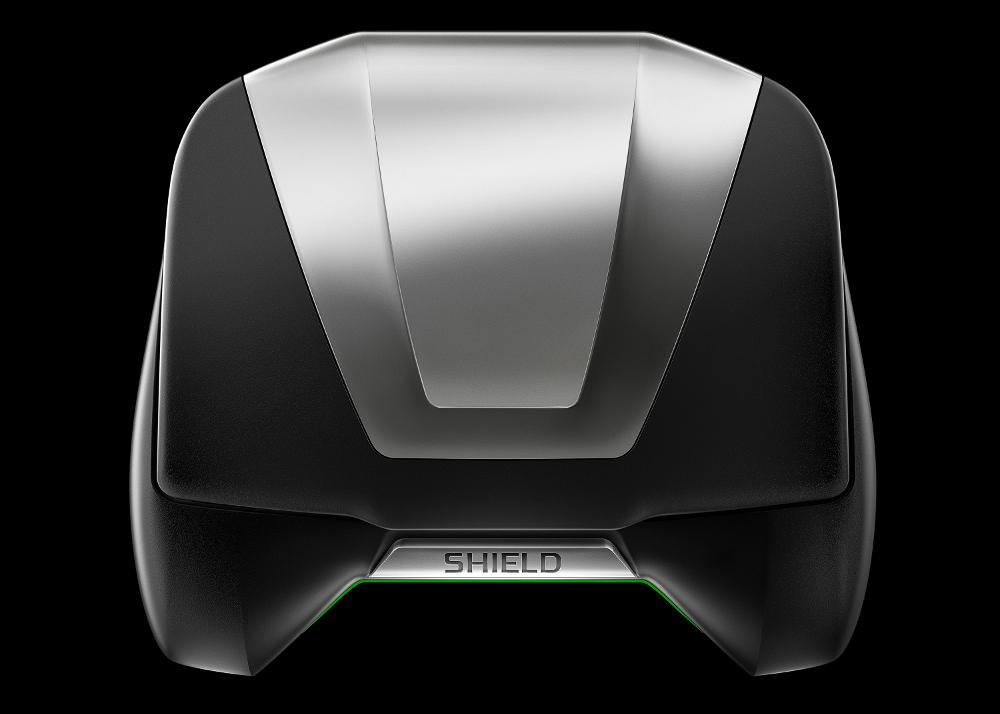 "The ""shield"" of Nvidia's Shield is a fold-down 5-inch 720p display"