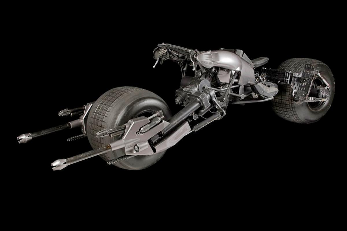 The Batpod will soon be up for auction