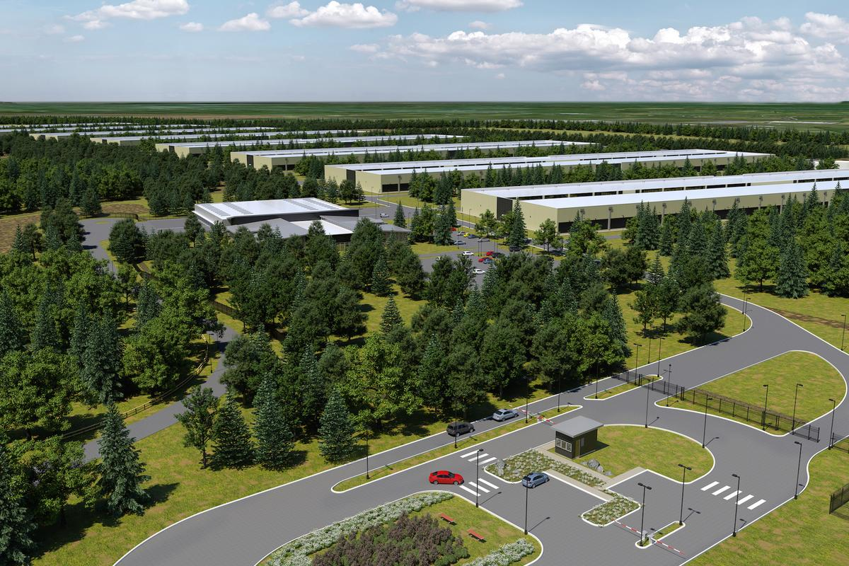 Atherny in Ireland will host one of Apple's new data centers