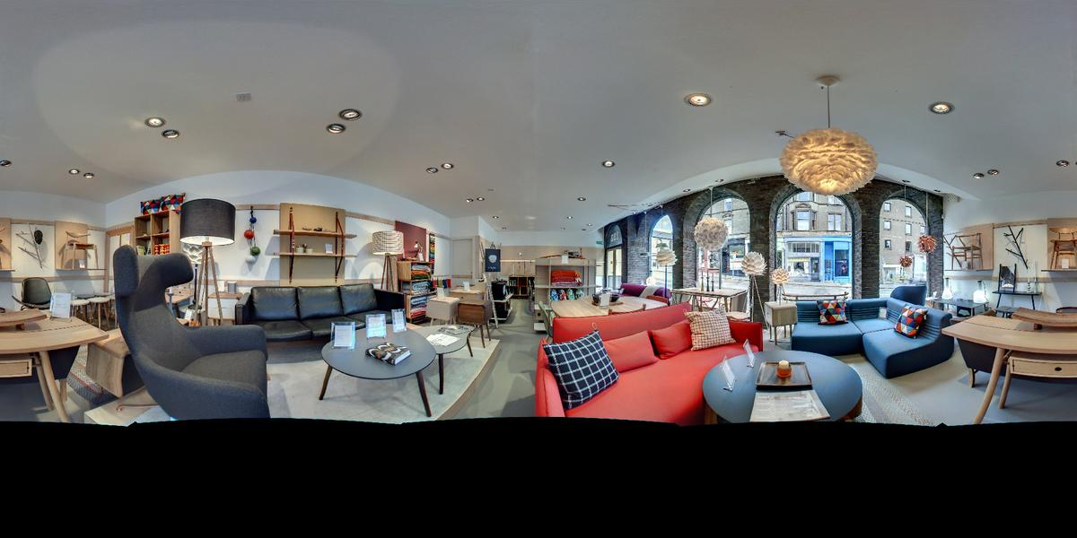 A panoramic image taken with the iris360