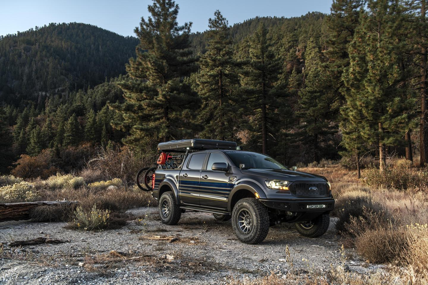 "The Hellwig ""Attainable Adventure"" Ranger clears room for its big 35-in tires with aftermarket fender flares"