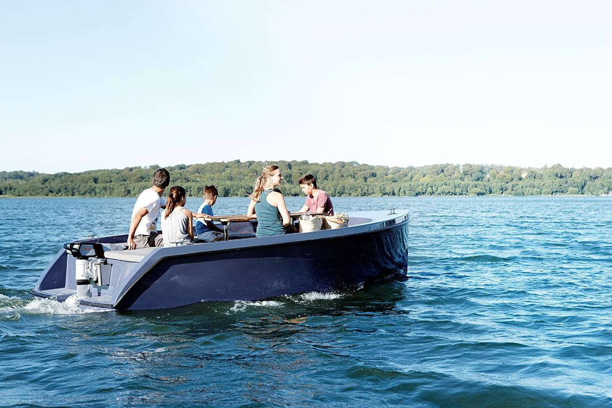 Rand Boats' Picnic can seat up to 10
