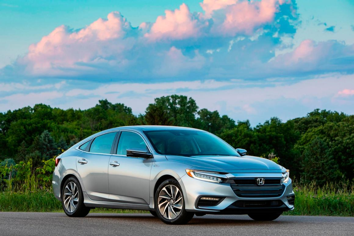 """The 2019 Insight is agood mix of """"regular car"""" and hybrid efficiency"""