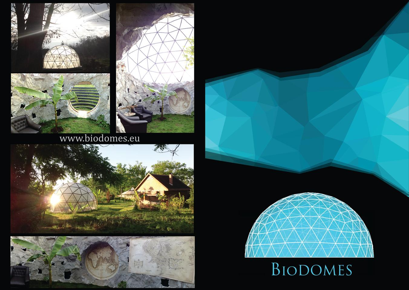 Delivery for the Biodomes isavailable for the entire European Union
