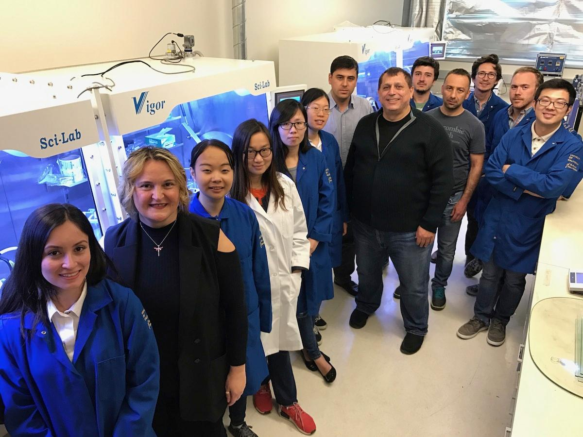 The UCR team behind the bottle-based silicon anodes