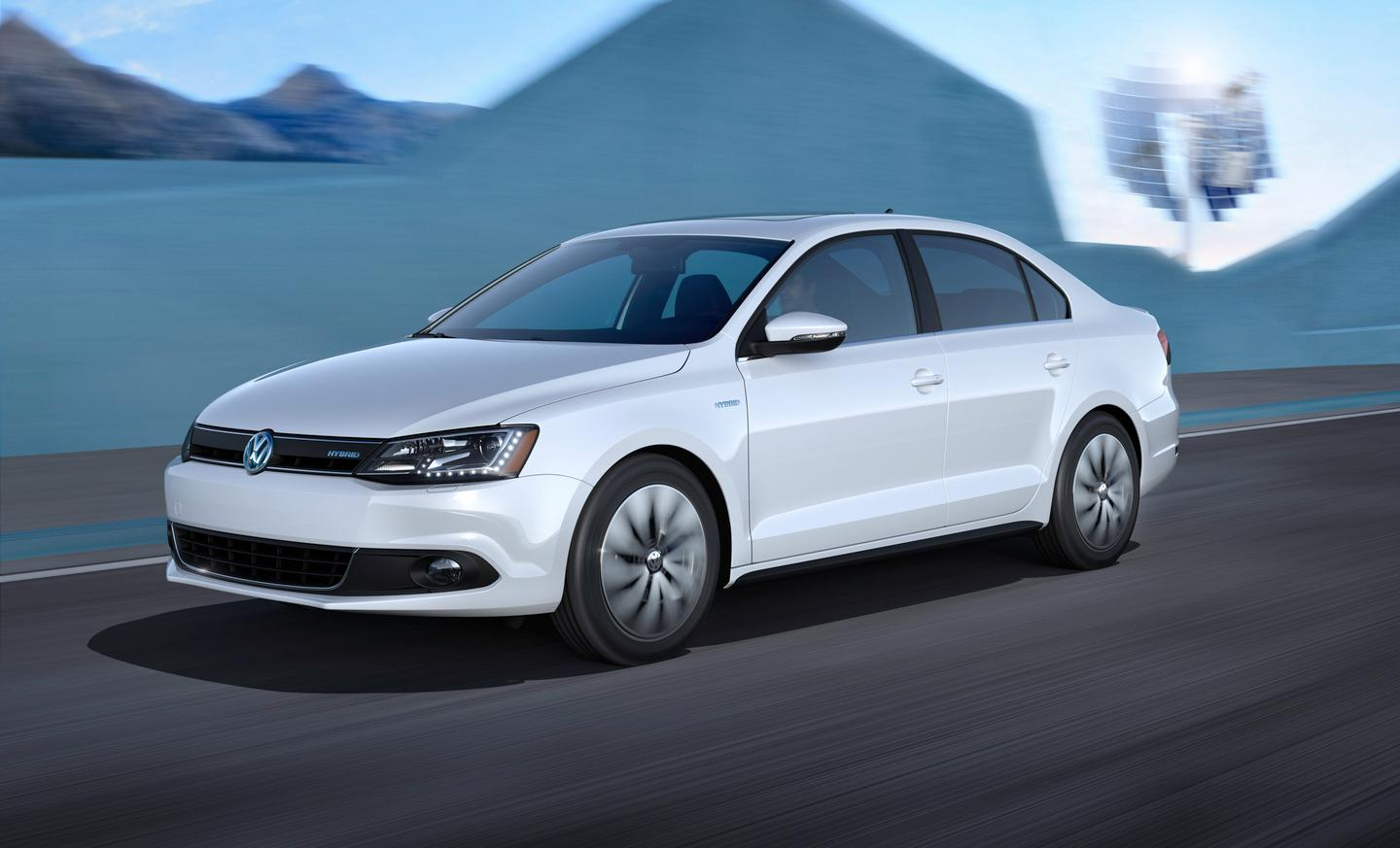 The Jetta Hybrid features a 1.4-liter turbocharged, direct-injection four-cylinder TSI gasoline powerplant that develops 150 horsepower