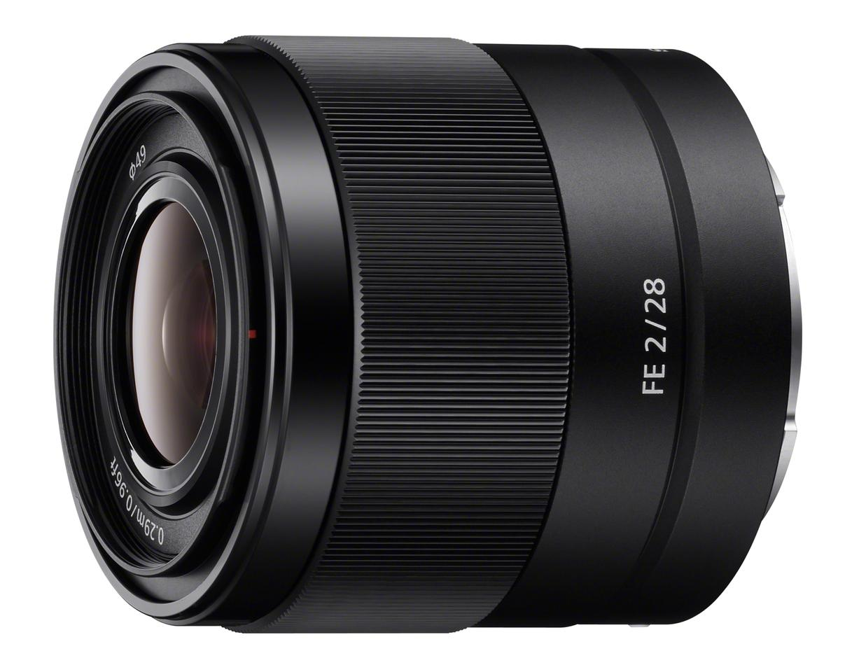 The Sony FE 28mm F2 is a wide angle prime lens with a 9-blade circular aperture