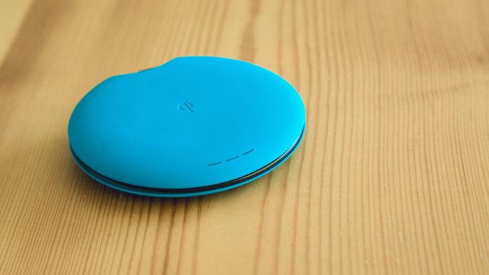 The Qimini Deuce with the USB cable fully tucked away