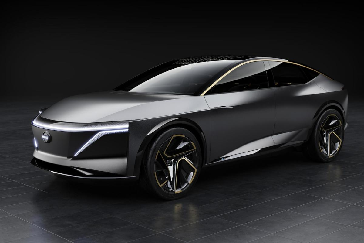The Nissan IMs EV is an all-wheel drive, battery-electric, autonomous drive sedan that enters the 2019 Detroit show as a showcase of the Japanese automaker's plans for electrification