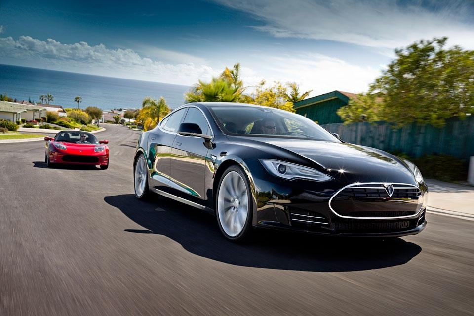The Model S is a step forward from the Roadster