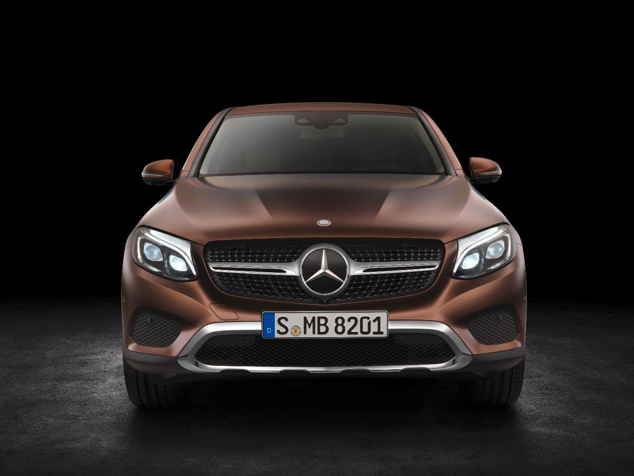 Mercedes has focused on style rather than practicality for its new GLC Coupe