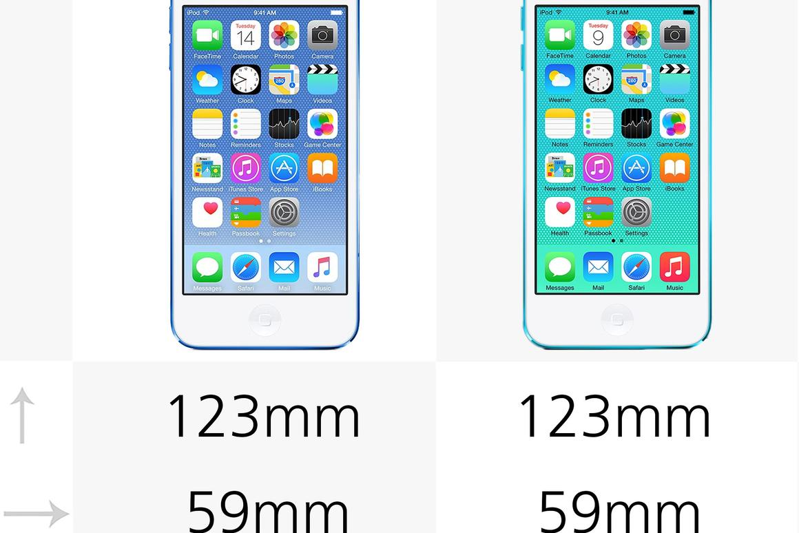 Apple Ipod Touch 6th Generation Vs Ipod Touch 5th