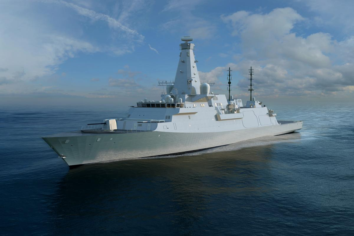 HMS Glasgow is the fist of eight Type 26 frigates