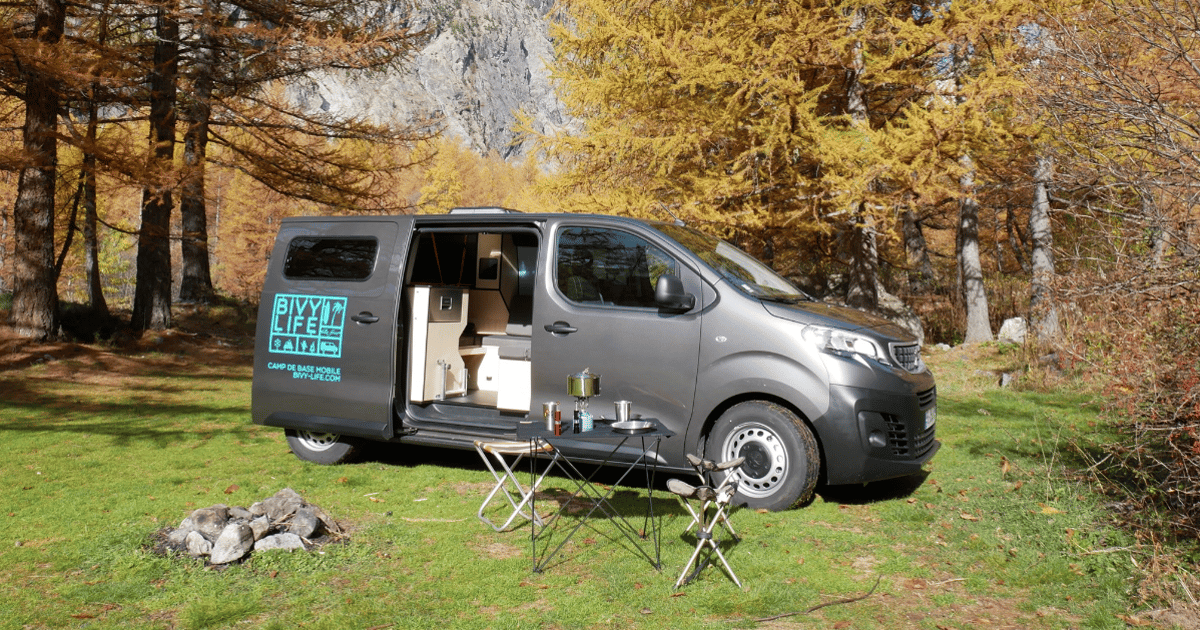 Small, slick French camper van is the bivy of van life