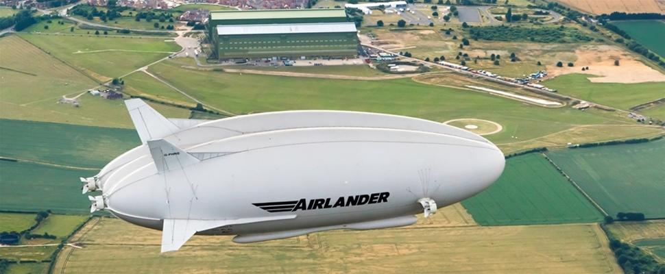 Currently considered the world's largest aircraft, the Airlander 10 is powered by four 325-hp (242-kW) turbocharged diesel engines