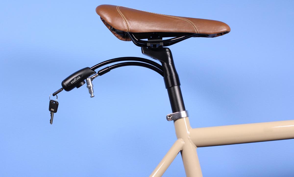 The InterLock bicycle lock/seatpost