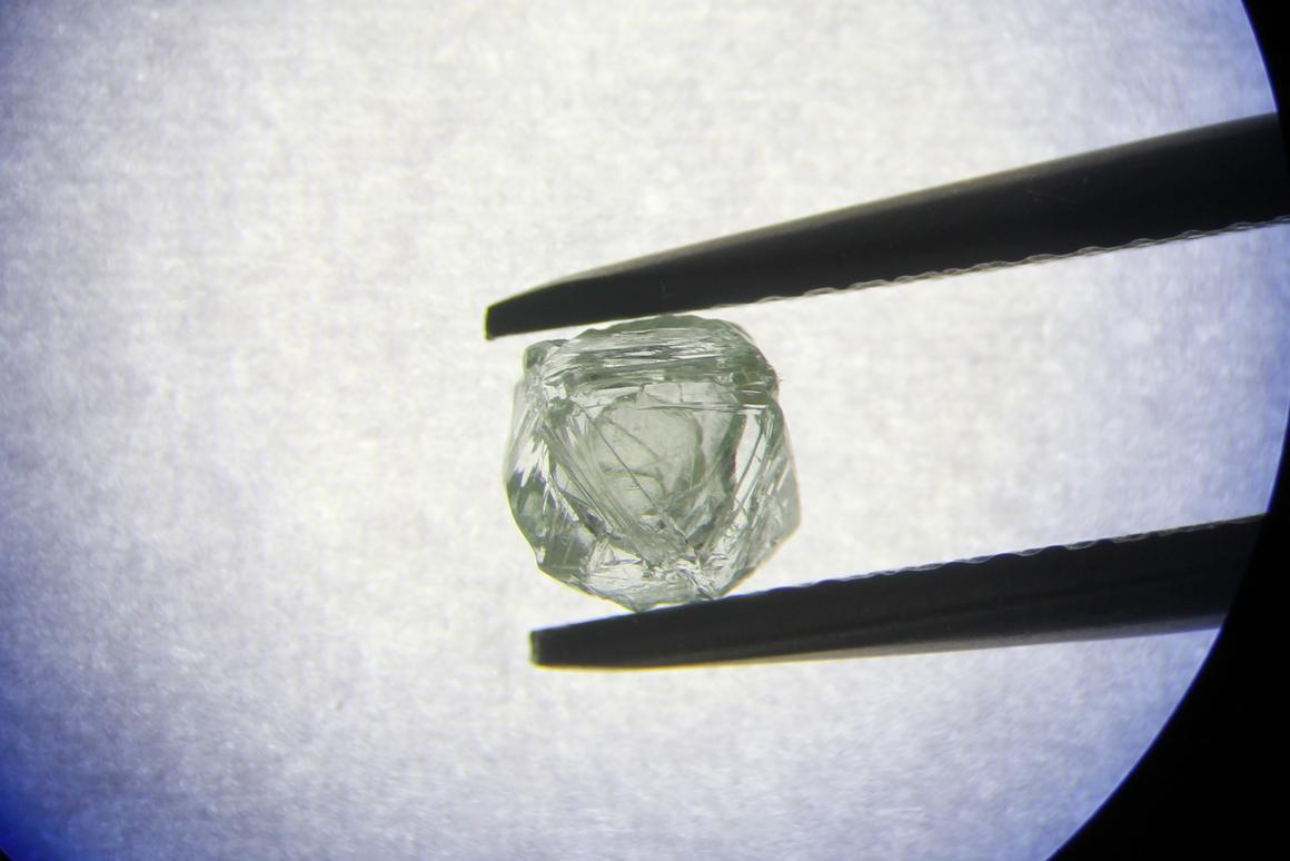 The Matryoshka diamond, with its free-moving diamond within a diamond, is thought to be one of a kind