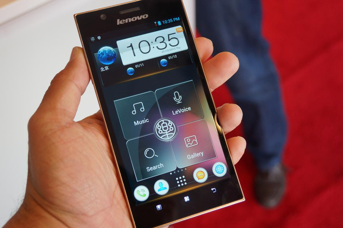 Lenovo has released the K900 smartphone in China