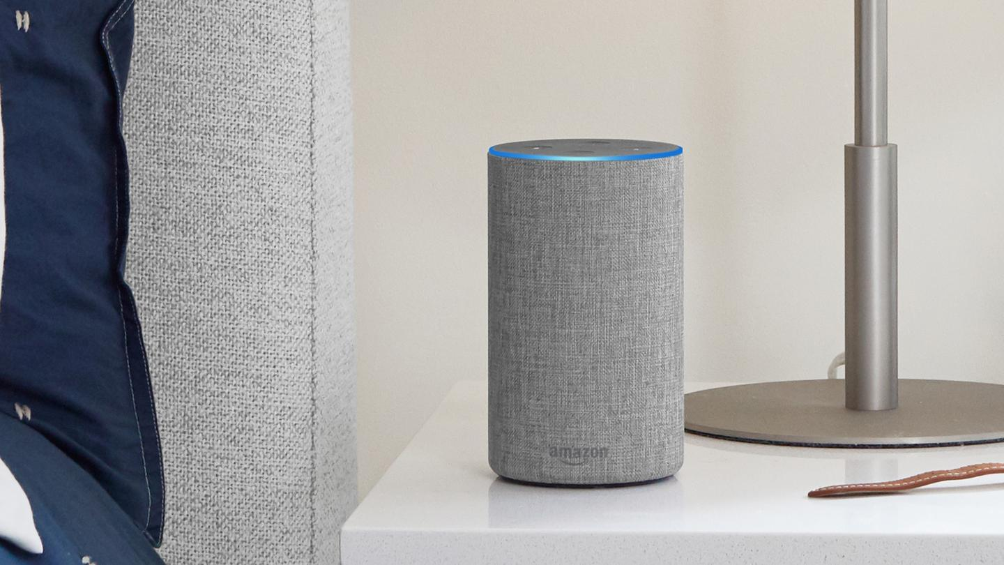 It's the new, smaller Echo