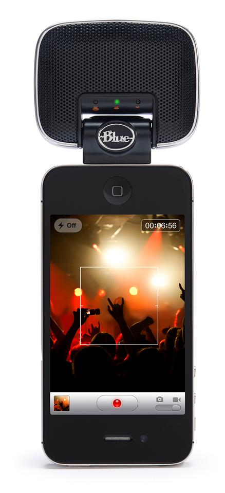 The new Mikey Digital is said to work with most popular recording apps for iPad, iPhone and iPod touch