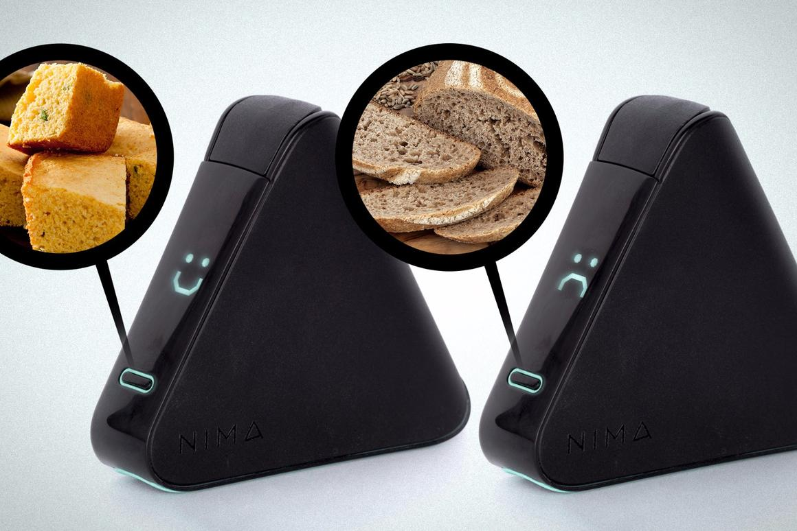 Developed by an MITspinout company, the Nima sensor can pick out tiny amounts of gluten in just a few minutes