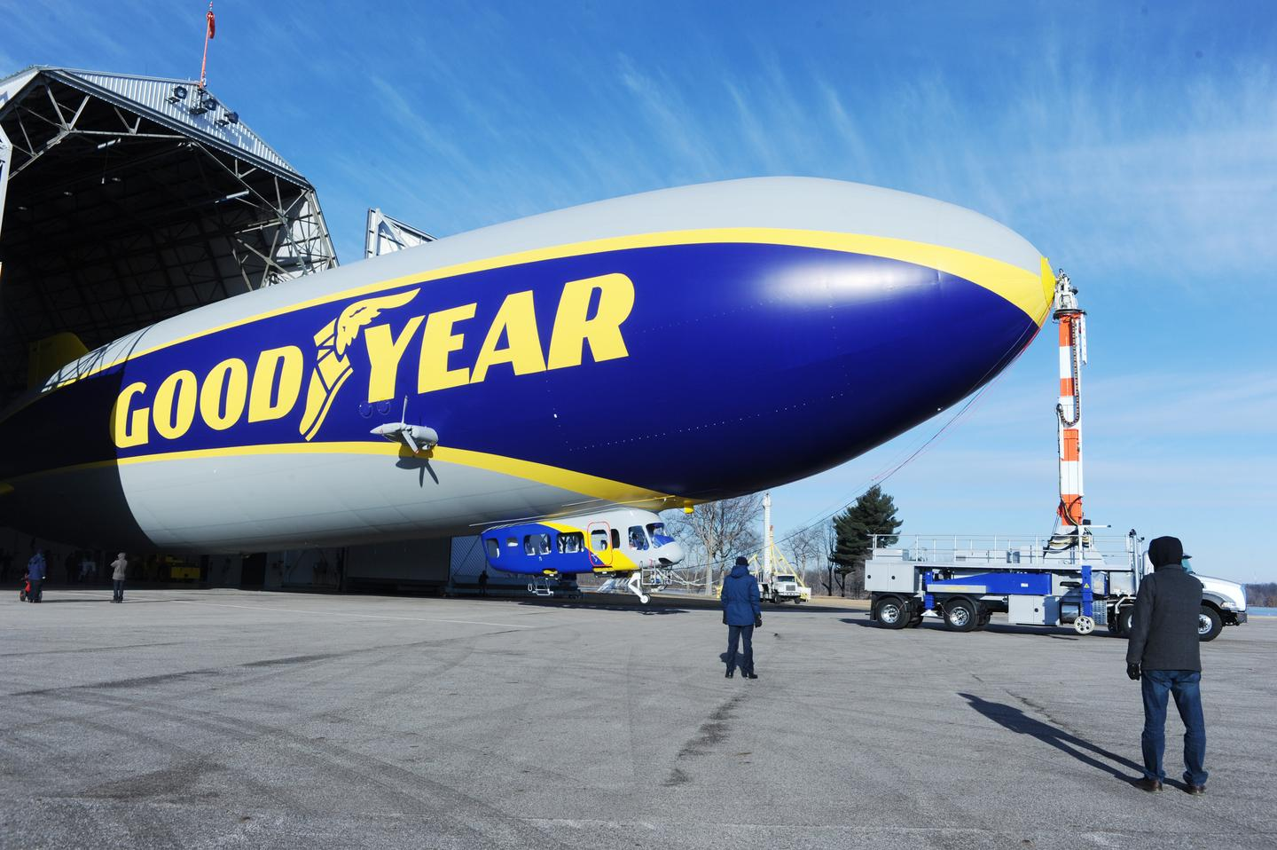 Goodyear's new airship will enter service this northern summer