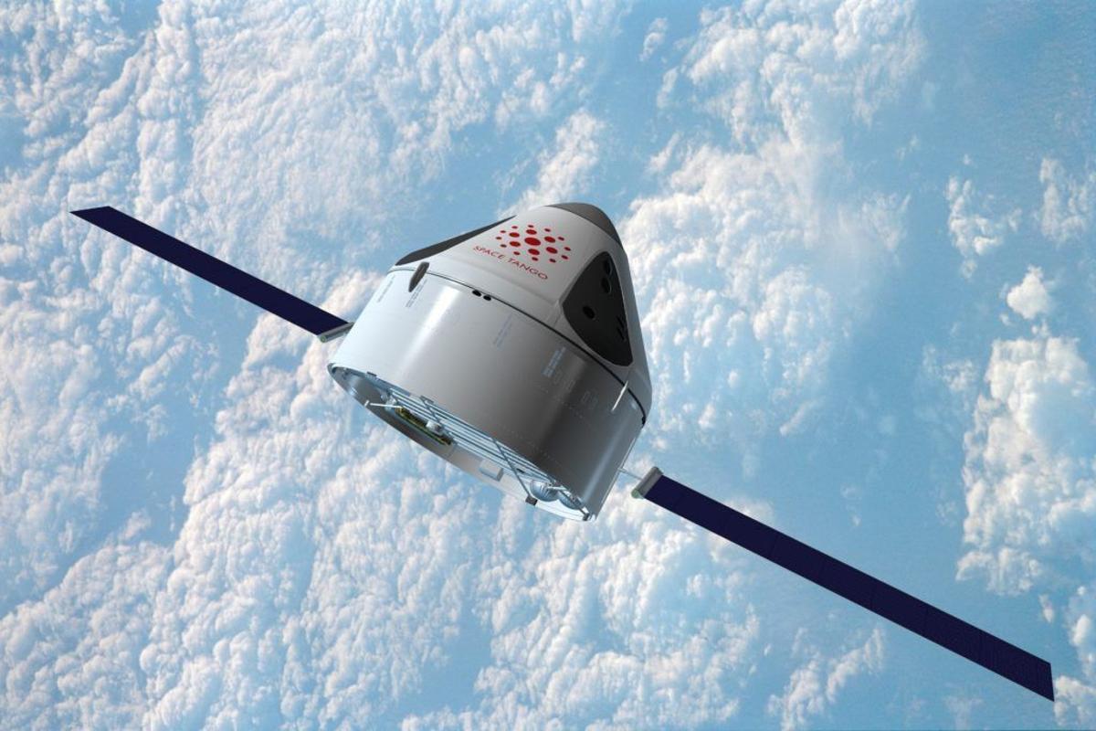Artist's rendering of the ST-42 orbital platform
