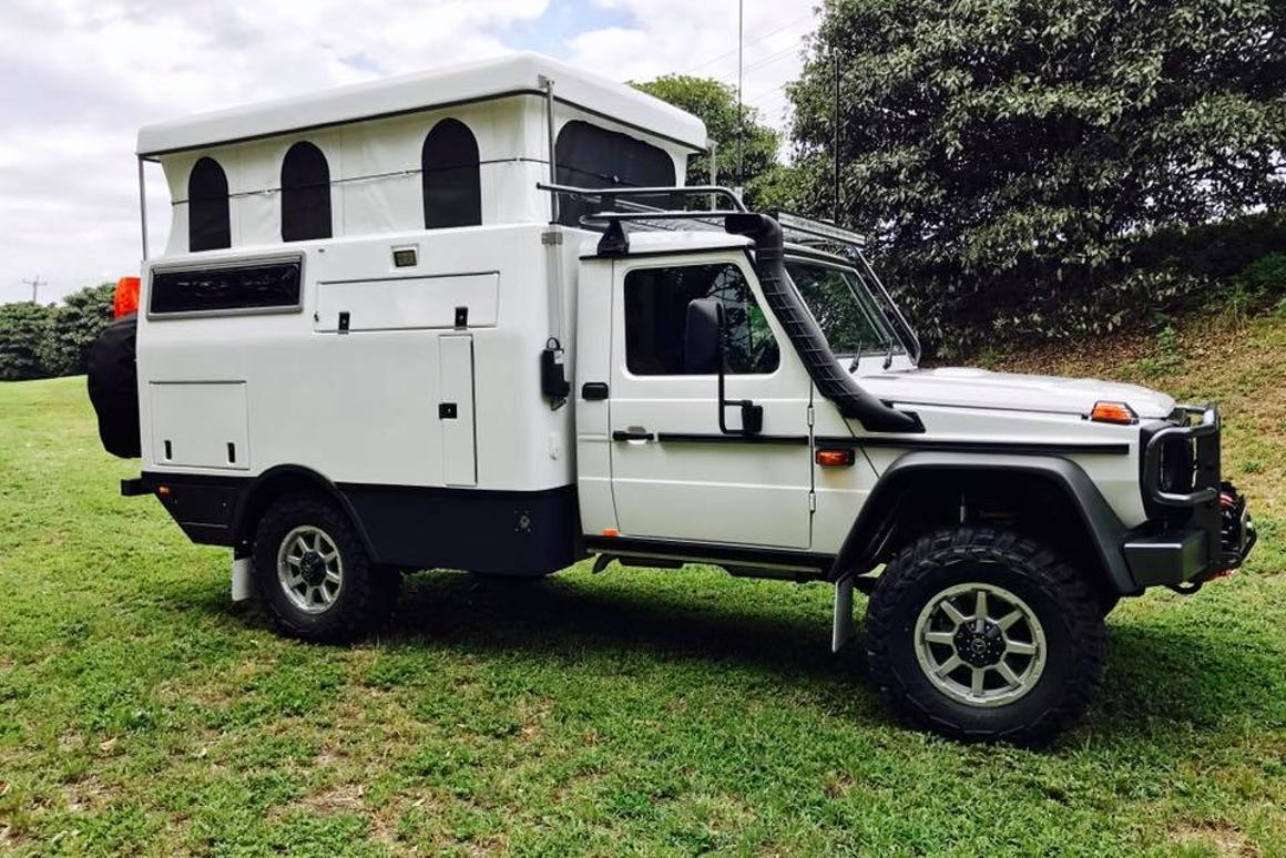 EarthCruiser makes ultra-capable off-grid motorhomes out of