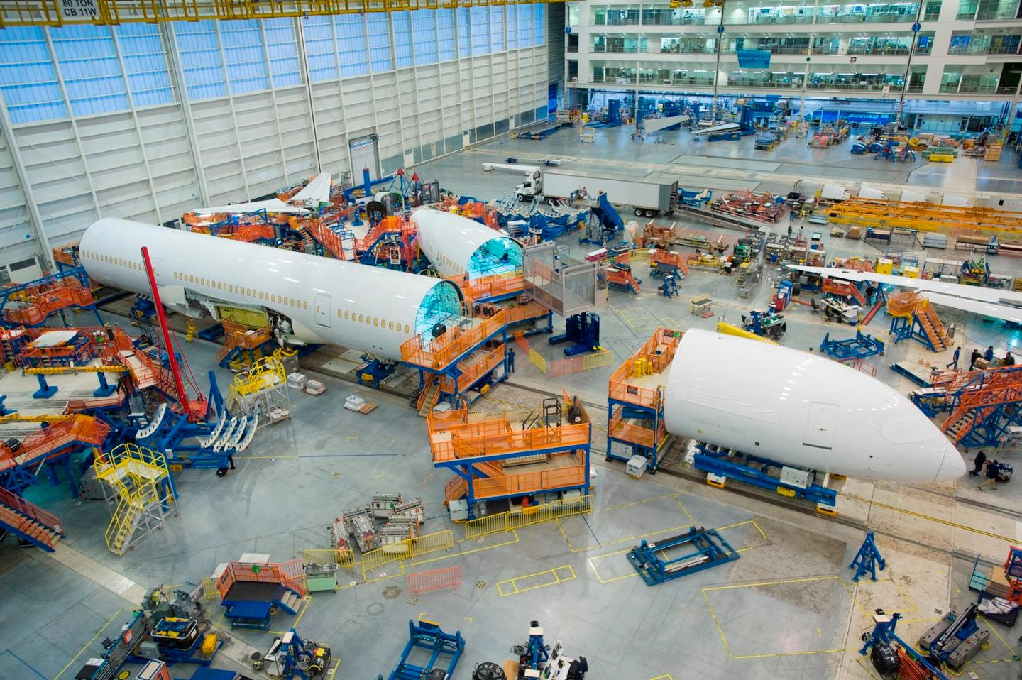 Boeing says the 787-10 Dreamliner is 25 percent more efficient in terms of fuel per seat and emissions than the aircraft it will replace