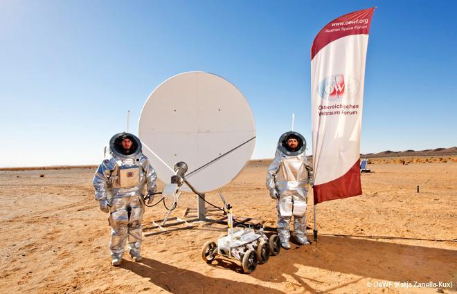 Beginning of Mars1013 (Image: OeWF (Katja Zanella-Kux))
