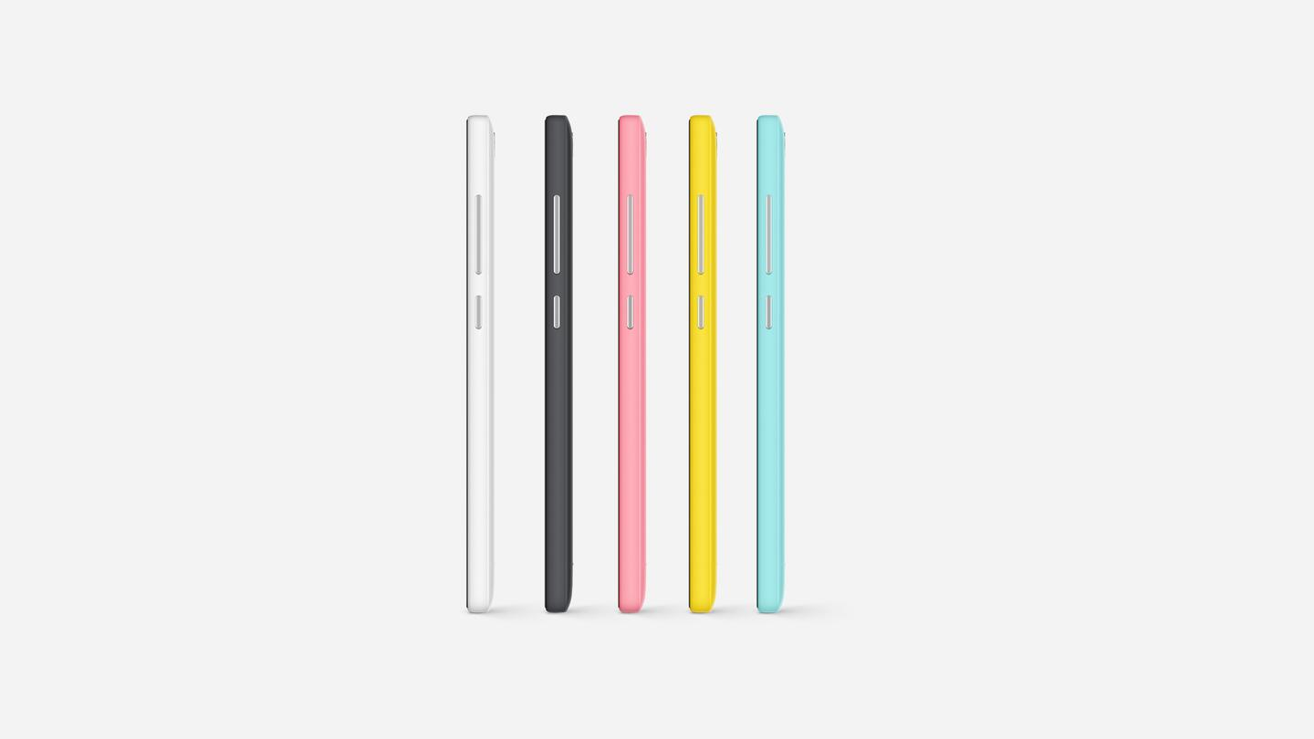 The Mi 4i is just 7.8 mm (0.3 in) thick