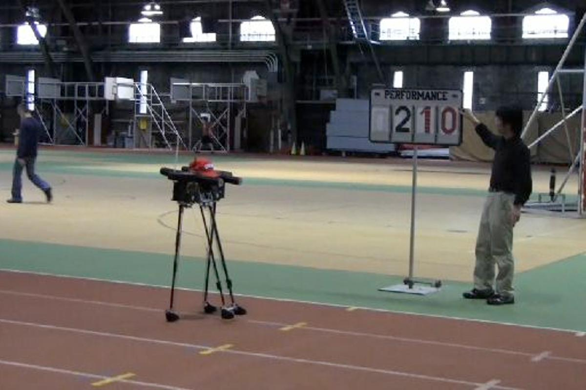 Cornell University's Ranger robot has beaten its own endurance record, by walking 40.5 miles on a single charge (Images: Cornell University)