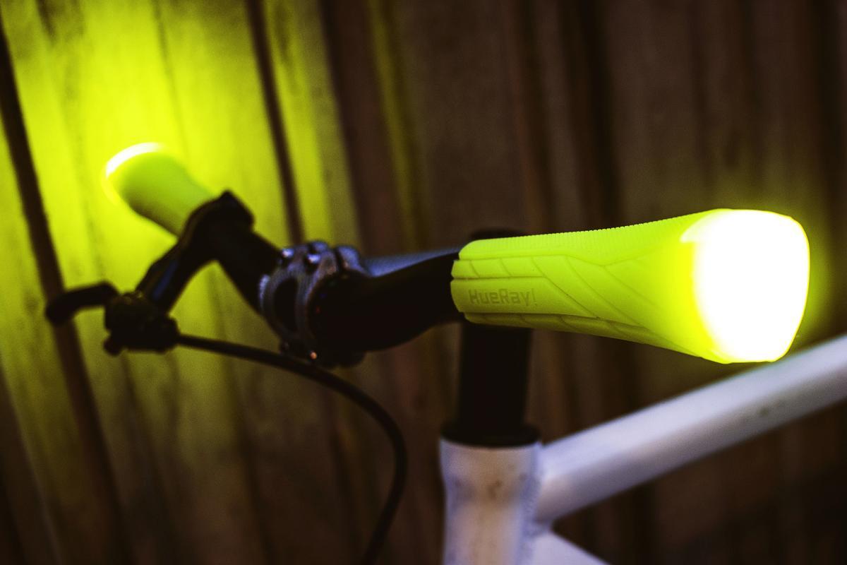 Each HueRay grip kicks out 90 lumens