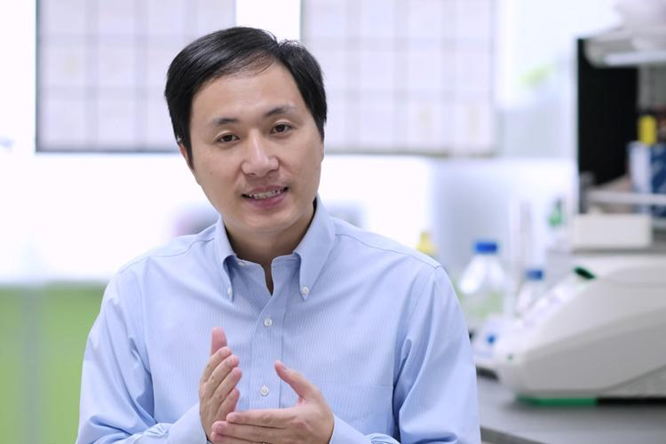 A large study of people with the same genetic mutationintroduced byChinese scientists He Jiankui (pictured) to two babies babies revealed higher rates of early death compared to individuals without that specific genetic mutation